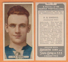 Huddersfield Town Ray Goodall England